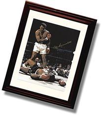 Framed Muhammad Ali Autograph Print