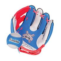 Franklin Sports Air Tech Soft Foam Baseball Glove and Ball