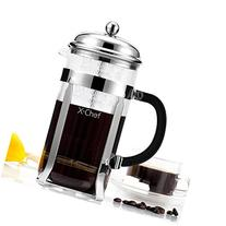 French Press, X-Chef 1000ml Heat Resistant Glass Coffee