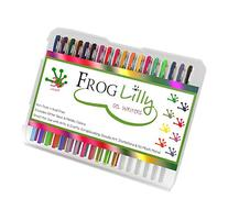 FrogLilly Professional Artist Markers Colored Gel Ink Pens
