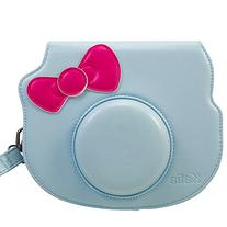 Katia PU Leather Instant Camera Case Bag With Strap and