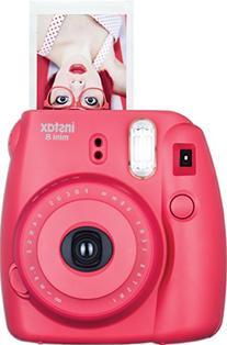 Fujifilm - Instax Mini 8 Instant Film Camera - Raspberry