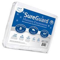 Full  SureGuard Mattress Encasement - 100% Waterproof, Bed