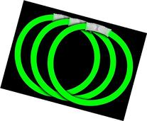 Fun Central P70 8 Inch Glow Stick Bracelets Green Glowsticks
