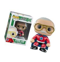 Funko Stan Lee Red Superhero Pop Vinyl Exclusive