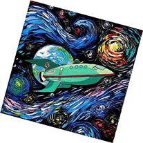 Futurama Inspired Art - Planet Express - Space Art - Starry