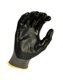 G & F 15196L Seamless Nylon Knit Nitrile Coated Work Gloves