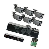 GW Security 8 Channel 5 Megapixel NVR 1536P IP Camera POE