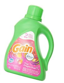 Gain with Freshlock Thai Dragon Fruit Liquid Laundry