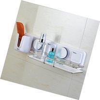 Gaoyu Suction Cup Wall Mounted Bathroom Kitchen Toilet Shelf