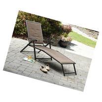 Garden Oasis Harrison Matching Folding Padded Sling Chaise