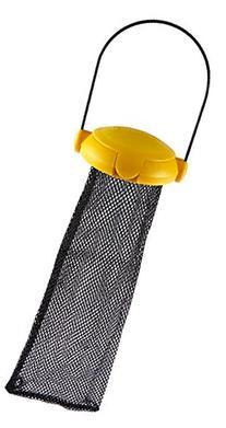 Gardman BA04820A Yellow Flip Top Thistle Feeder Mesh Bag, 4