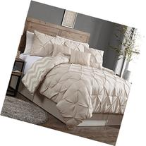 Geneva Home Fashion Avondale Manor 7-Piece Ella Pinch Pleat