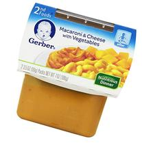 Gerber 2nd Foods Macaroni & Cheese with Vegetables, 3.5