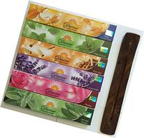 Gift Set of 6 Nag Champa Sandalwood Patchouli Rose Lavender