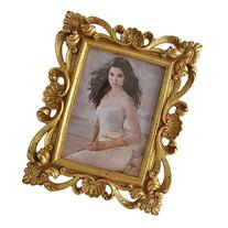 Giftgarden 5 by 7 -Inch Vintage Picture Frame Gold for Photo