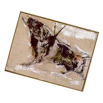 Gino Hollander, Bull, Oil Painting