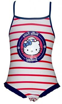 Girls Hello Kitty Swimming Costume