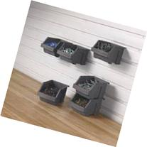 Gladiator GarageWorks GAWESB6PSM Small Item Bins, 6-Pack