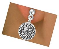 """""""Golf Mom"""" Ball Comes On An Earring Style"""