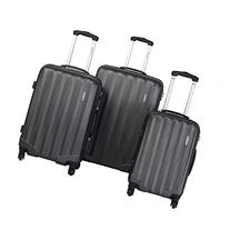 Goplus® GLOBALWAY 3 Pcs Luggage Travel Set Bag ABS Trolley