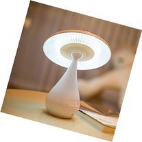 Graces Dawn® Mushroom Shaped Ionizer Air Purifier LED Desk
