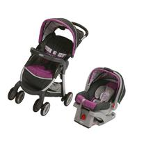 Graco FastAction Fold Stroller Click Connect Travel System,