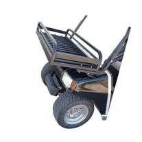 Custom Cart Front Rack
