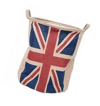 GreenForest Linen Toys Storage Basket Round Basket with the