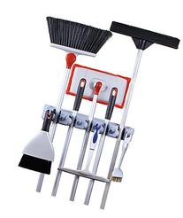 Greenco Mop and Broom Organiser, Wall and Closet Mount