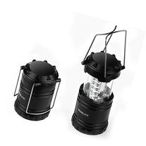 2 Pack of Water Resistant Portable Ultra Bright LED Lantern