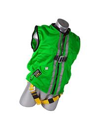 Guardian Fall Protection 02220 Green Mesh Construction Tux
