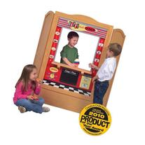 Guidecraft Wooden 4 In 1 Dramatic Play Theater