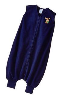 HALO Big Kids Sleepsack Micro Fleece Wearable Blanket, Blue