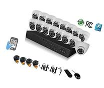 HDView 18CH Tribrid: 16 Channel DVR + 2 Channel NVR, 2.4MP