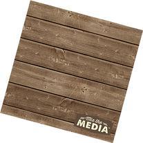 "Hampton Art Mix The Media Wooden Plank Plaque, 12"" by 12"