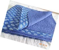 Handicraftofpinkcity Hand Block Print Cotton Baby Quilts