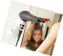 Hands Free Hair Dryer Holder - Patented Blow Drying Wall