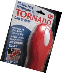 Hands free automatic tornado can opener by Tornado