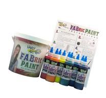 Handy Art by Rock Paint 885-060, 4-Ounce Fabric Paint 9-