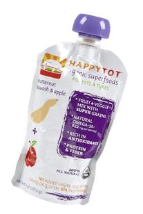 Happy Family happy tot Purees - Apple & Butternut Squash +