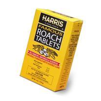 Harris Famous Roach & Silverfish Killer, 4oz Tablets -