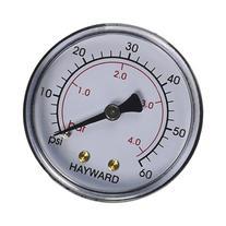 Hayward ECX27091 Back Mount Pressure Gauge Replacement for