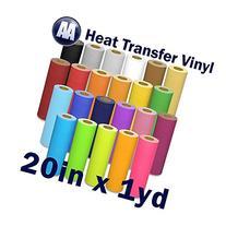 "DTGmart Prisma Heat Transfer Vinyl for T-shirts 20"" x Yard"