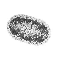 Heritage Lace Victorian Rose 13-Inch by 24-Inch Doily, Ecru
