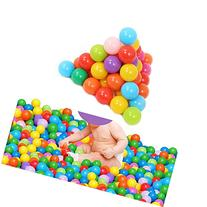 HeroNeo 500pcs Colorful Ball Fun Ball Soft Plastic Ocean