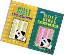Holy Bible Crosswords 2 Volume Set