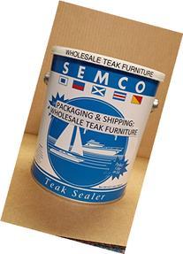 Honey Tone Finish Semco Teak Wood Sealer / Sealant /
