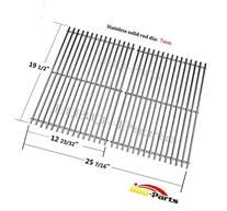 Hongso SCG528,7528  BBQ Barbecue Replacement Stainless Steel