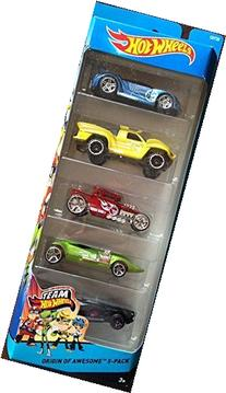 Hot Wheels Origin of Awesome 5-pack